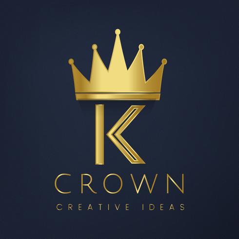 Golden crown logo