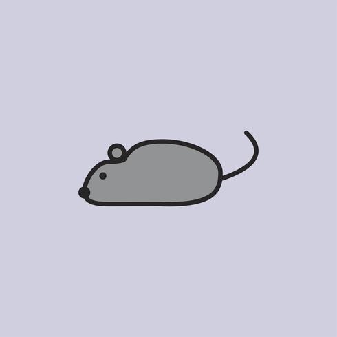 Illustration of laboratory rat