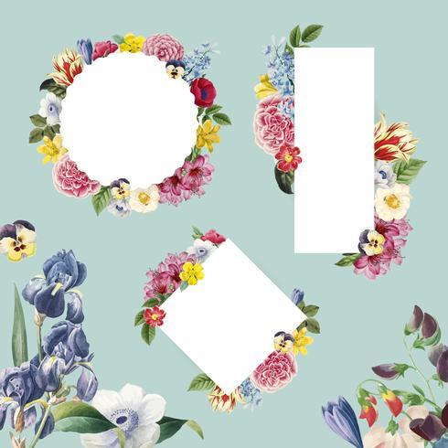 Illustration de fond floral