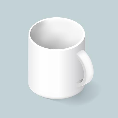 Vetor de ícone de caneca de café