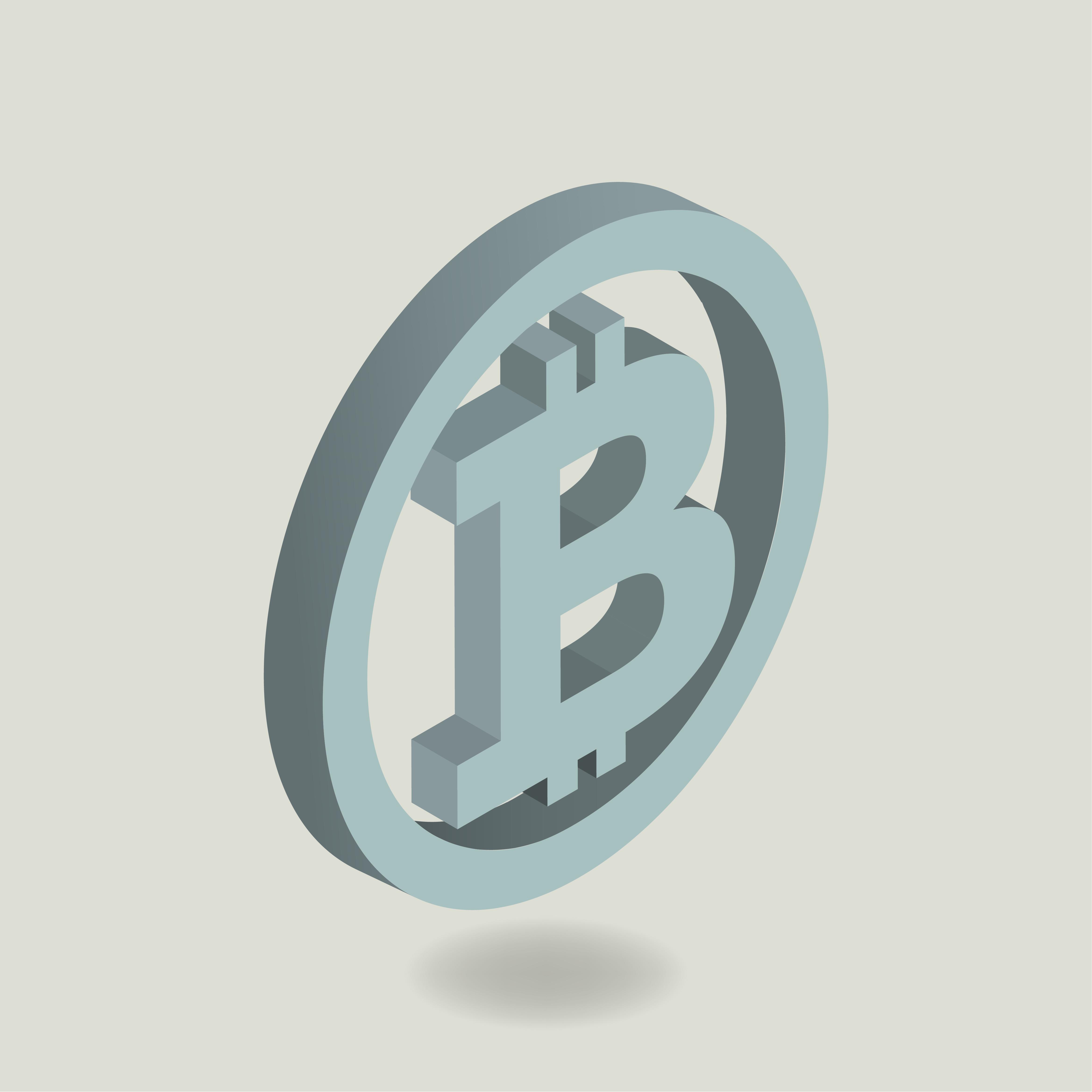 Vector icon of bitcoin icon - Download Free Vectors, Clipart Graphics & Vector Art
