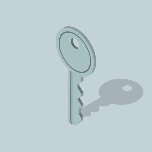 Vektorbild der Schlüsselikone