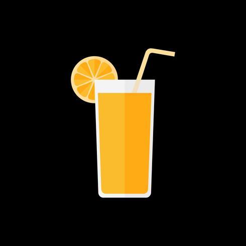 Illustration of a cocktail or mocktail vector