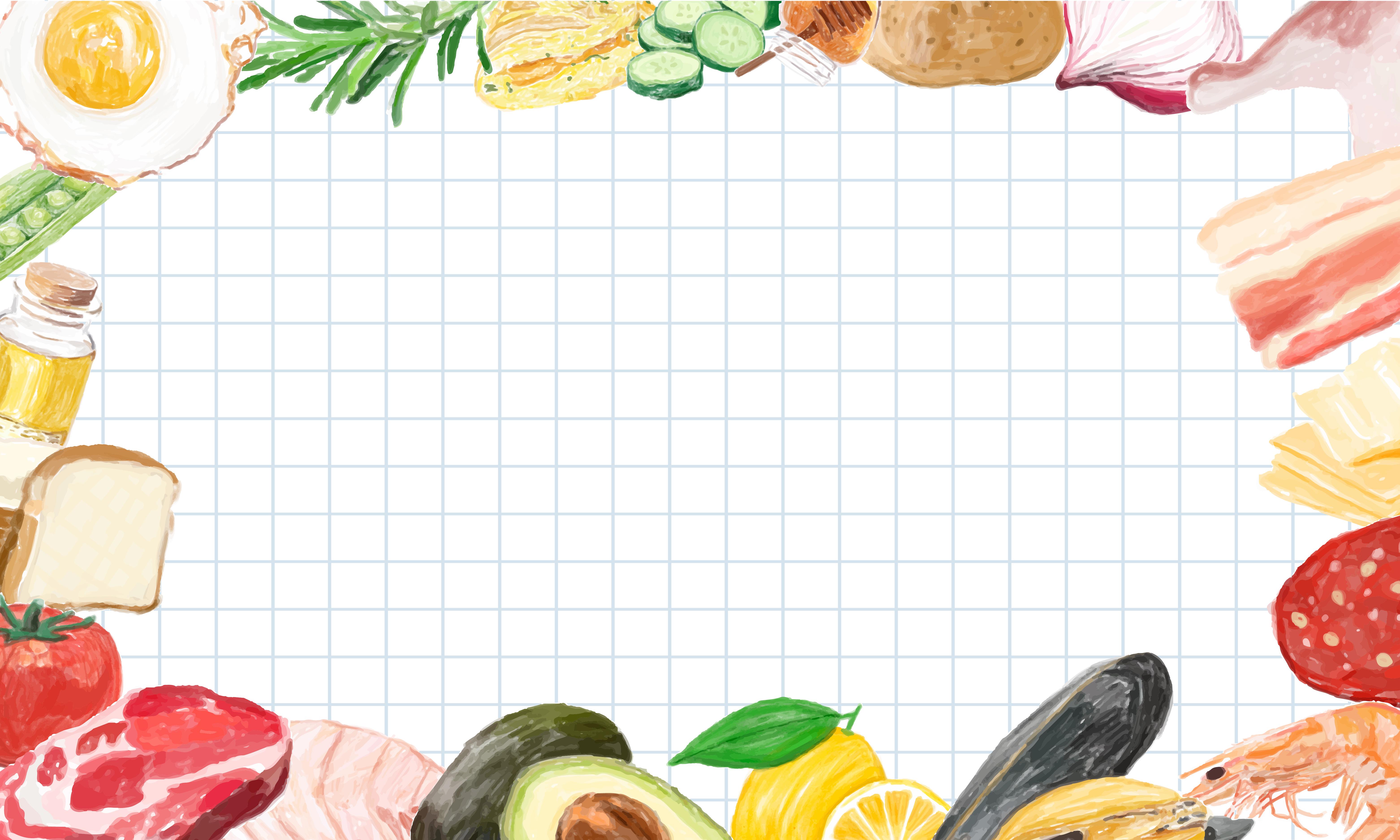 Food Frame Free Vector Art - (2,025 Free Downloads)