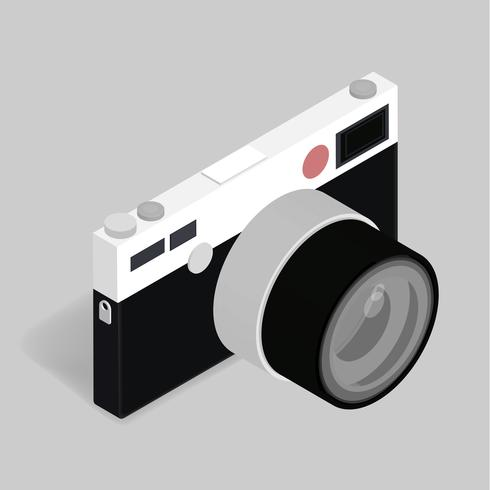 Vektor der Retro- Kameraikone
