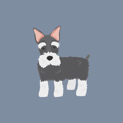 Leuke illustratie van een Schotse terriërhond