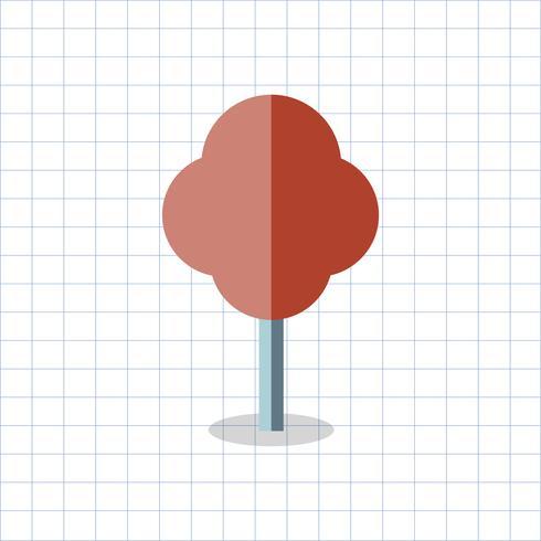 Abbildung eines farbigen geometrischen Baums