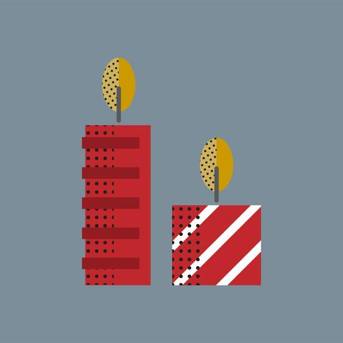 Merry Christmas Icon Concept