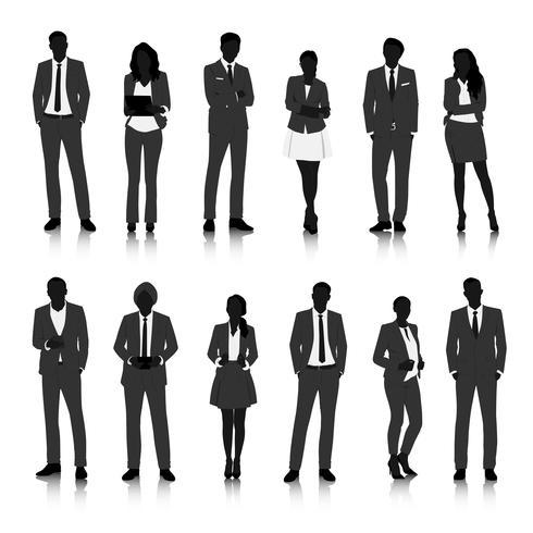 Illustratie van mensen uit het bedrijfsleven