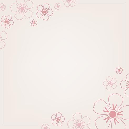 Estampado floral rosa