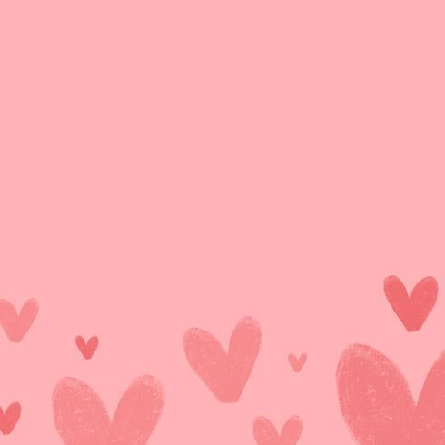 Hjärta bakgrundsdesign