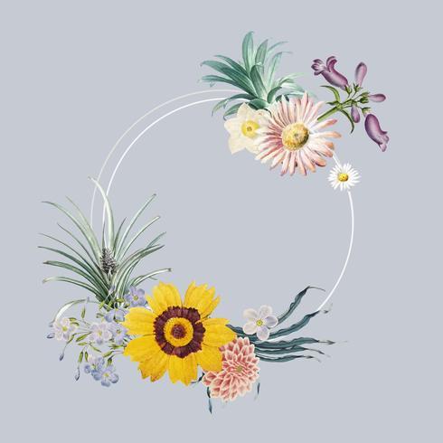 Blomram ram