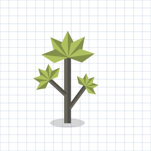 Illustration of a geometric tree