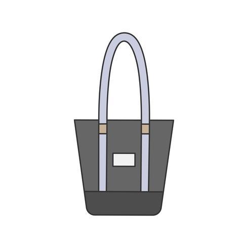 Ilustración de una bolsa de asas
