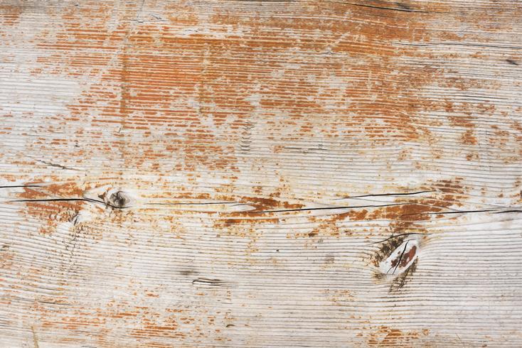 Närbild på en träplanka