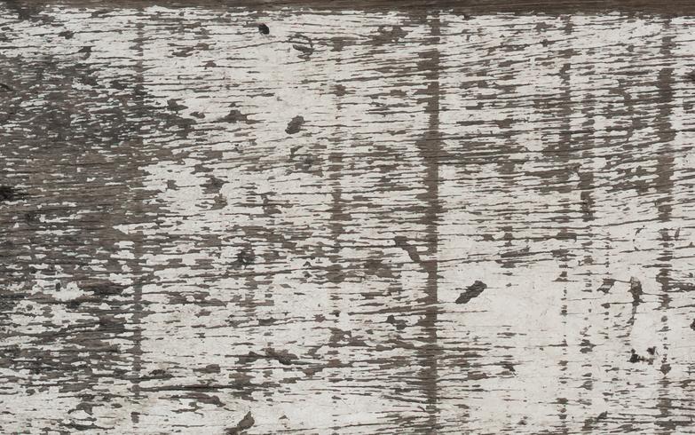 Viejos tablones de piso de madera blanca