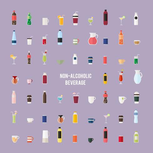 Collection of beverage vectors