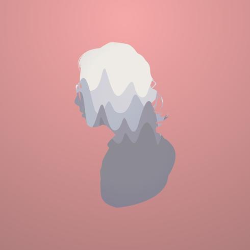 Illustration of human silhouette