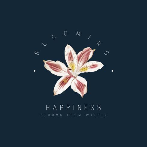 Distintivo di fiori di giglio