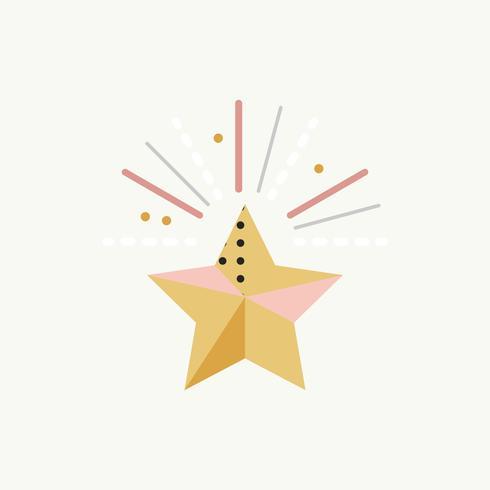 Star Firework Celebration Event Concept