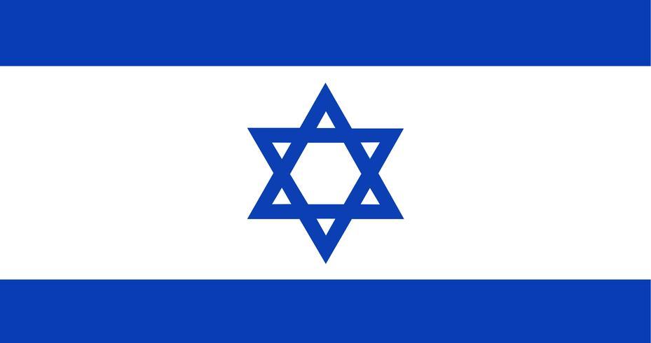 Illustration of Israel flag