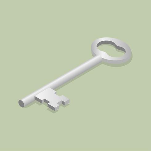Image vectorielle d'icône clé