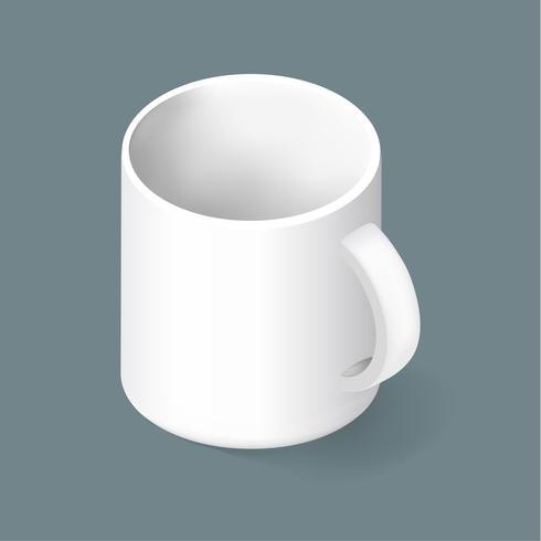 Vector van koffiemok pictogram