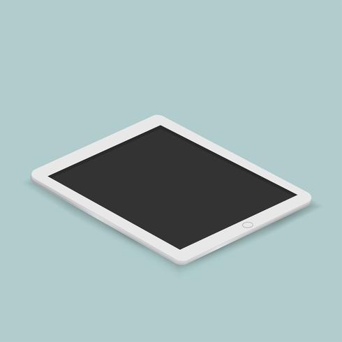 Vektor av digital tablettikonen