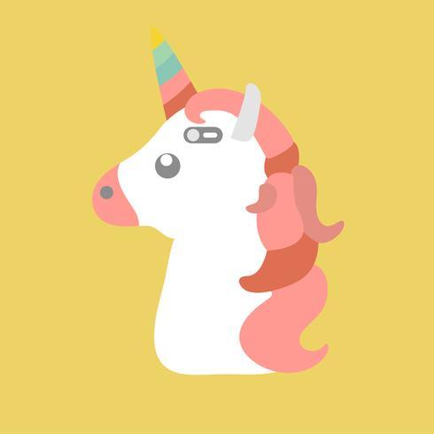 Ilustración de un unicornio