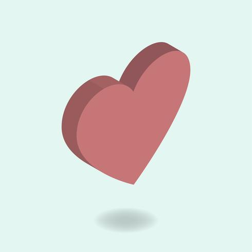 Vector of heart icon