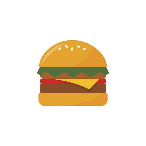 Illustration d'un hamburger