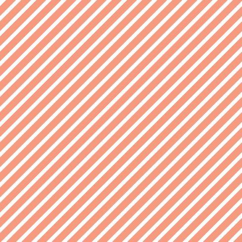 Vetor de padrão listrado sem costura laranja pastel