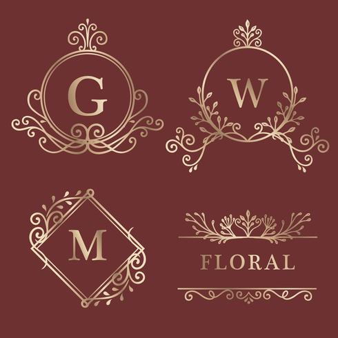 Guldramad logotypsamling