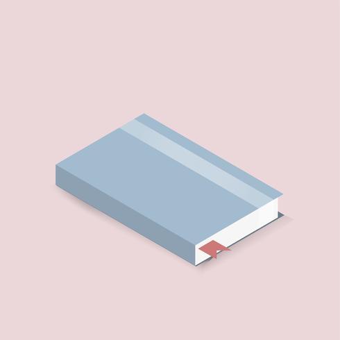 Vector van dagboek notebook pictogram