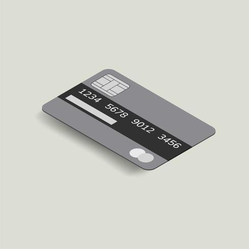 Vector afbeelding van creditcard pictogram