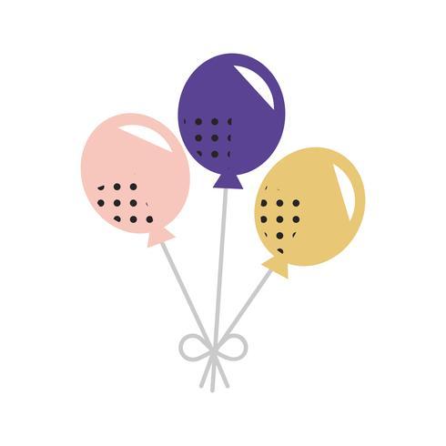 Ballon-Ikonen-Feier-Konzept