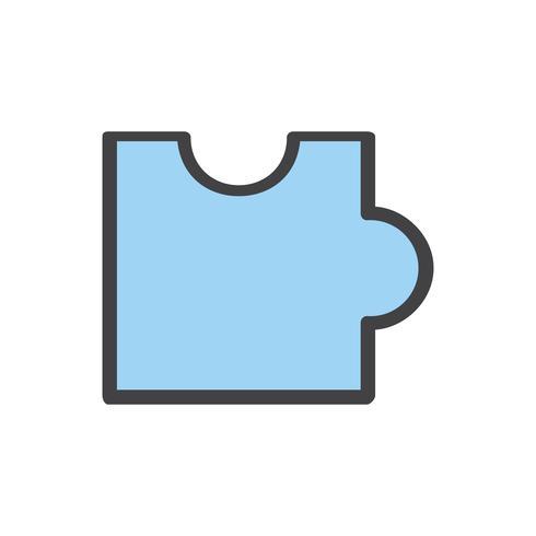 Ilustración del icono de rompecabezas