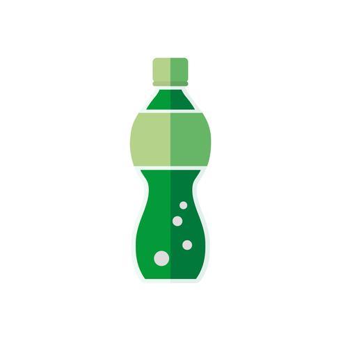 Vecteur de bouteille de soda