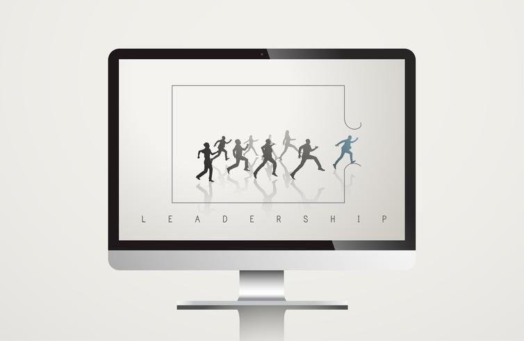 Leadership Manager Teamwork Vector Concept