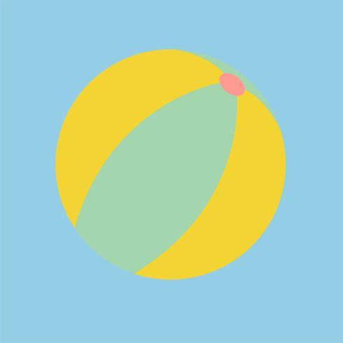 Abbildung eines Wasserballs