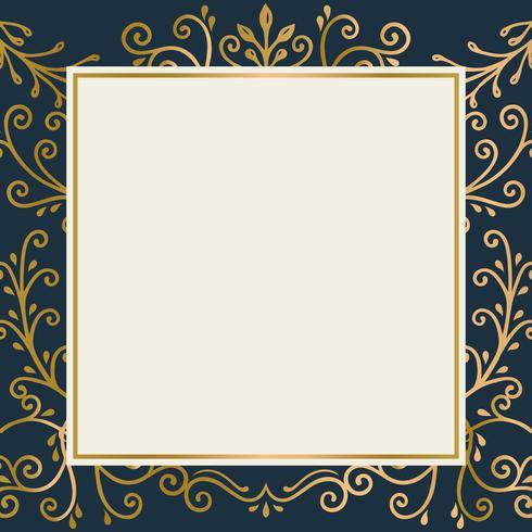 Gouden frame achtergrond