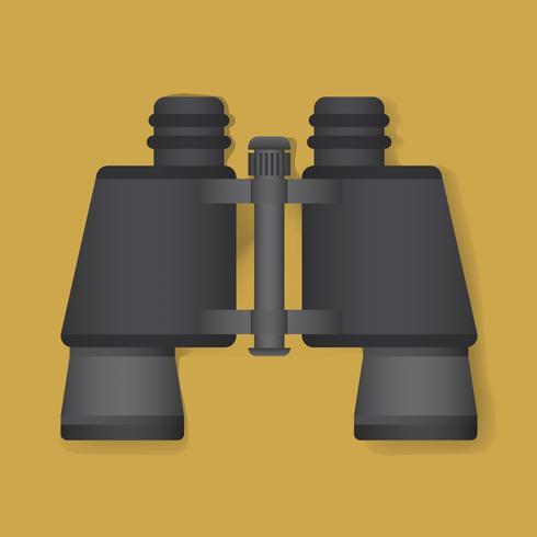 Binocular Explore Graphic Illustration Vector