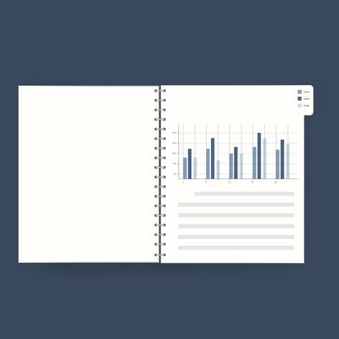 Illustration d'un livre financier