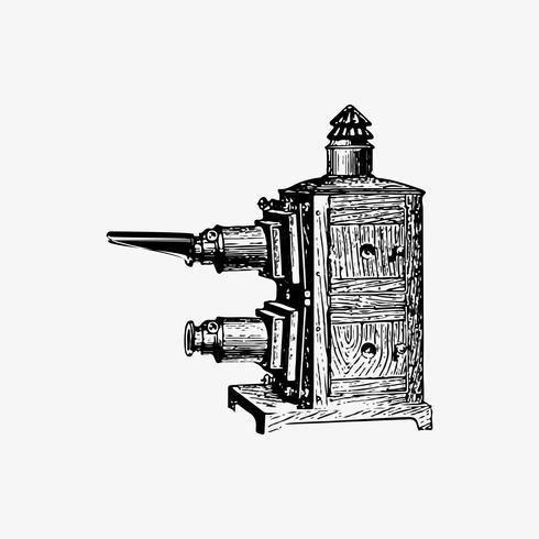 Lanterna mágica do vintage