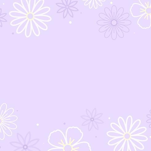 Motivo floreale viola