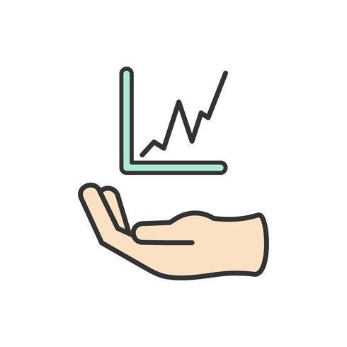 Illustration der finanziellen