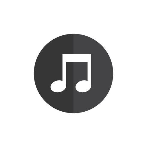 Illustrazione dell'icona della nota musicale