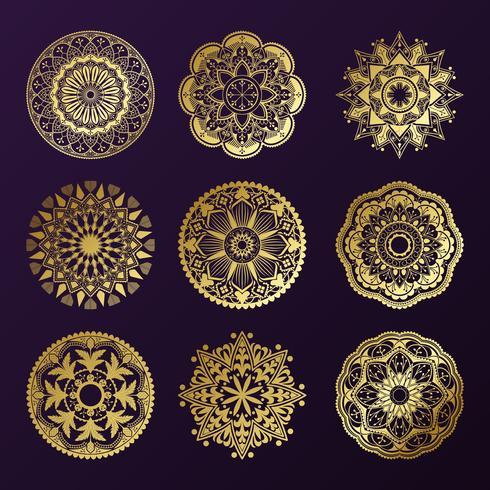 Indian mandala design