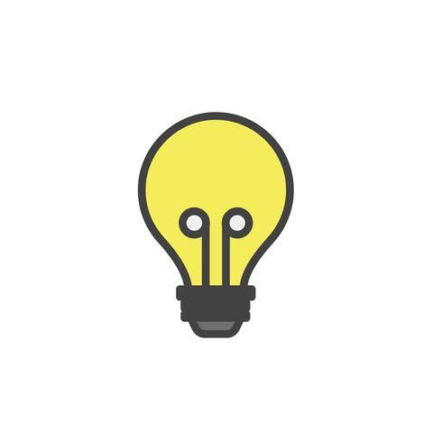 Vetor de lâmpada