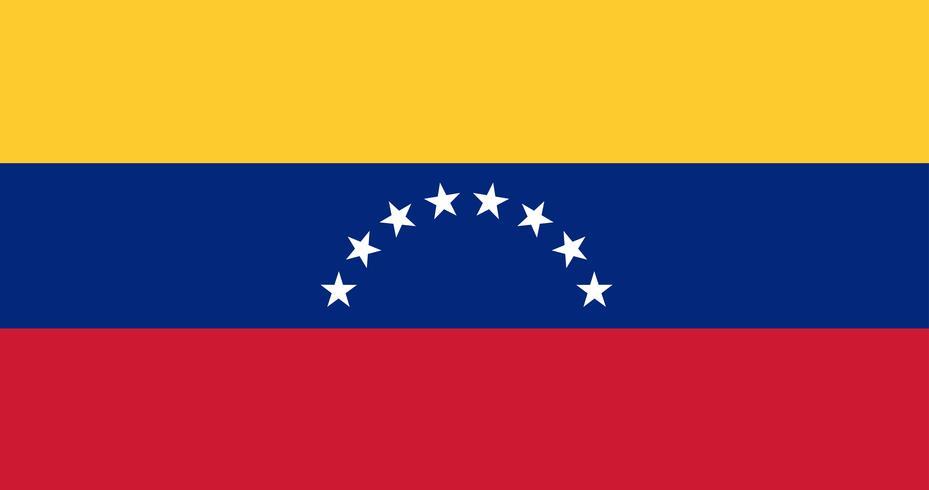 Bandiera dell'illustrazione del Venezuela